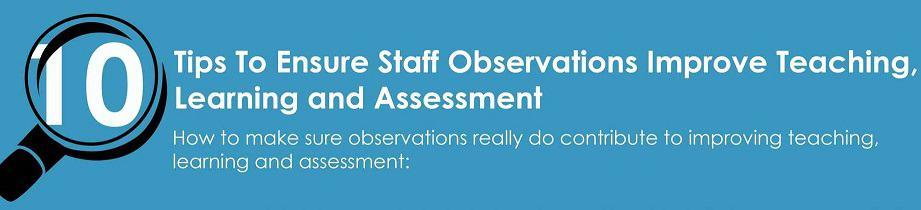 Improving Lesson Observations